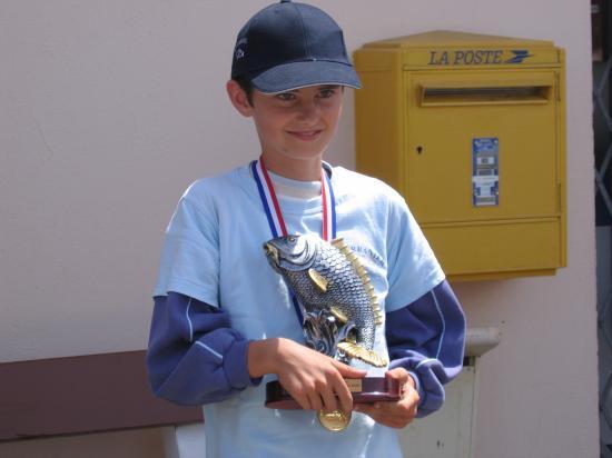 Schmitt Soeren medaille d'or minime