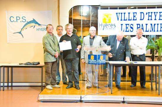 Jack GILBERT Medaille de bronze  Ecole de Pêche/CPS Hyères